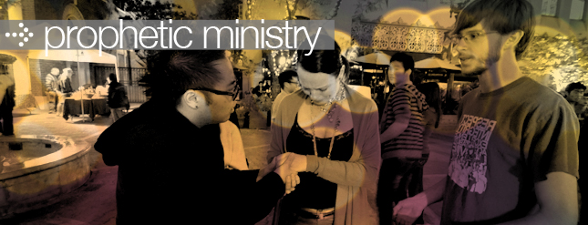 Prophetic Ministry – Corey Turner Ministries